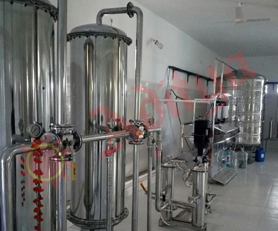 Minaral Water ISI Project Manufacturer